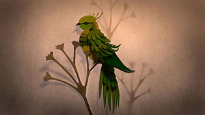 Concept art for Beautiful Birds by Adam Oehlers